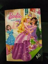 8 pcs x A6 Barbie Cartoon Paper Notebook  With Free 2 A6 Pororo Notebook FS
