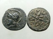 Kolone Troas Bronze Ae11_Ancient Greece_Athena & Star