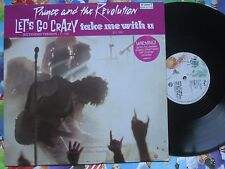 "Prince And The Revolution Let's Go Crazy / Take Me With YouVinyl 12"" Maxi-Single"