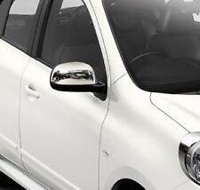 Genuine Nissan Micra (07/10 - 08/13) Mirror Covers - Chrome (KE9601H000)