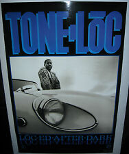 """TONE LOC Loc-ed After Dark (1989 US 24inch x 36inch """"In-Store Only"""" Promo Poster"""