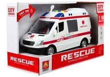 Spielzeug Kinder Krankenwagen/Einsatzfahrzeug mit Licht & Sound 1:16! Neu & Ovp!
