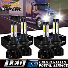 For International Truck Pro Star Prostar 2008-2016 - 4X LED Headlight Bulbs Kit