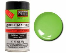 Testors Model Master Automotive Sublime Green Lacquer Spray Paint Can 3oz. 28117