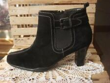 NEW AEROSOLES REPLACEMENT BLACK SUEDE ANKLE BOOT (LEFT ONLY) BUCKLE DESIGN~SZ 6M
