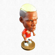 Paul Pogba Figurine Toys Collection Manchester United Shirt On Player