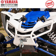 YAMAHA YXZ1000R OEM WHITE Trail Front Grab Bar with Winch Plate 2HC-F84L0-P0-00