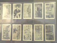 1937 R. & J. Hill  CRYSTAL PALACE SOUVENIR set 40 cards Tobacco Cigarette card