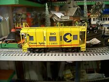 CHESSIE SYSTEM (RIGHT-A-WAY) BRASS CABOOSE