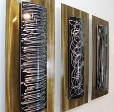 "Metal Abstract Modern Painting Wall Art Sculpture ""Concerto"" By Jon Allen"