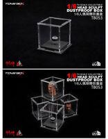 """TOYS-BOX Transparent Dustproof Box 1/6 Scale Fit 12"""" Action Figure Head Sculpt"""