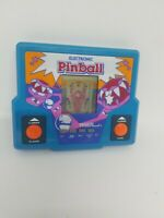 Tiger Electronic Pinball Handheld Game 1987 Vintage Hand Held