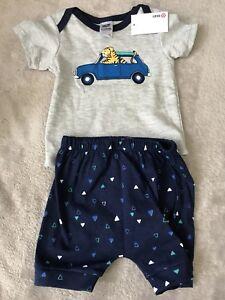 TARGET Grey/blue Pj pyjamas shorts Set *BNWT* Size 0. 10 Items =$5 Post
