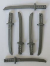 Playmobil  6 x Japanese Samurai Swords Knights/Pirate/Soldier   Mint condition
