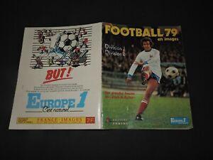 Album PANINI Europe 1 FOOTBALL 1979 en images Divisions 1&2 Stade de Reims