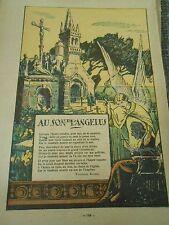 Au Son de L'Angelus Print 1928