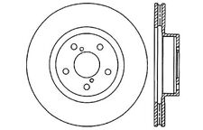 Disc Brake Rotor-High Performance Drilled and Slotted Centric 127.47012L