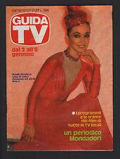 GUIDA TV MONDADORI 52 (2/1/1983) ORIELLA DORELLA HAZZARD CIRANDA DE PEDRA SERIE