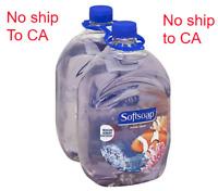 2 pack SOFTSOAP Liquid Hand Soap Refill Aquarium scent jumbo 64oz Bottle