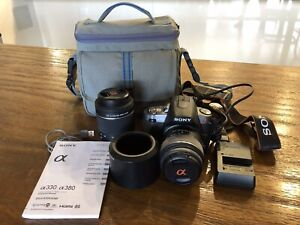 Sony A330 Camera