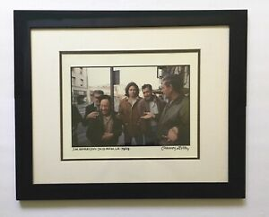 Jim Morrison/The Doors, Los Angeles, CA 1969 Framed Print by Henry Diltz signed!