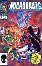 MICRONAUTS THE NEW VOYAGES #1-20 NEAR MINT COMPLETE SET 1984