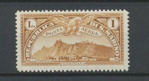 [P640] San Marino 1931 airmail good stamp very fine MNH value $25