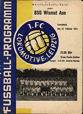 OL 74/75 1. FC Lok Leipzig - BSG Wismut Aue, 22.02.1975