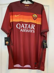 NEW (SEE PICS) - AS Roma Nike 2020-21 Stadium Home Soccer Jersey - 2XL -MSRP $90