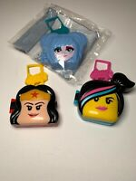 3 Mcdonalds Happy Meal Toys. Lego Movie