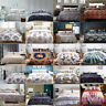 Modern Printed Duvet Cover Quilt Cover Pillow Case Bedding Set Twin Queen King