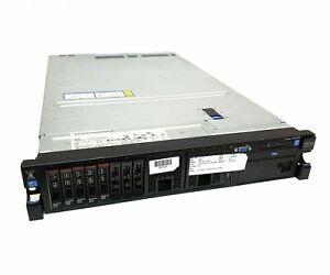 IBM System X3650 M4 Server Dual [2x] Xeon E5-2640 64Gb 5x300Gb M5110E 550W PSU's