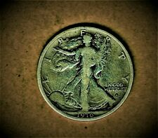 1916-S (Obv) Walking Liberty .900 silver half dollar at Fine condition