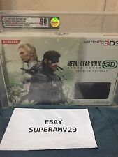 METAL GEAR SOLID 3:SNAKE EATER 3D Japan  Nintendo  3DS JAPAN VGA 90 ARCHIVAL