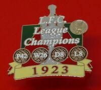 Danbury Mint Pin Badge LFC Liverpool Football Club FC League Champions 1923