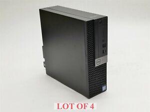 Dell OptiPlex 7060 SFF Intel i5-8600 3.1GHz 6-Core 8GB 256GB M.2 Win10 PC Lot 4