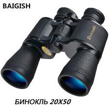 Russian Binoculars Zoom Telescope 20x50 Hd Powerful Binocular Night Vision Hunt