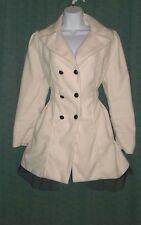 Cute DOLLY SWEET LOLITA Ivory White Jacket Coat M-L Nana Kawaii Retro Goth