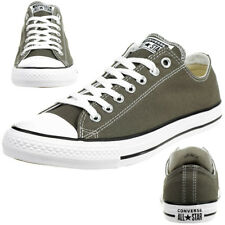 Converse C Taylor All Star Seasnl Ox Chuck Shoes Trainers Canvas Grey 1J794C