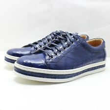 Shoes Fashion Alligator Leather Sneaker Casual Size 09 #FS2101