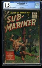 Sub-Mariner Comics #39 CGC FA/GD 1.5 Cream To Off White Timely