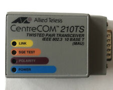 CentreCom 210Ts Twisted Pair Transceiver 🔥 At-210Ts Ieee 802.3 10 Base T New