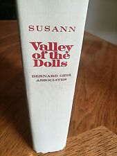 Valley Of The Dolls A Novel By Jacqueline Susann 1966 Hc Vg 1St 4Th Printing