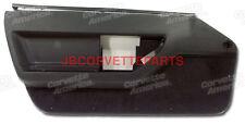1984 thru 1989 Corvette Black Standard Door Panels NEW Pair