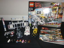LEGO SPEED RACER GRAND PRIX RACE 8161 COMPLETE SET RETIRED RARE CARS SPEED RACER
