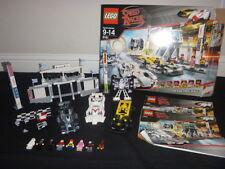 LEGO SPEED RACER GRAND PRIX RACE 8161 COMPLETE SET RETIRED RARE CARS SPEED RACER