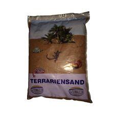 Terrariensand rot nass 5kg - Terrarium Sand Bodengrund Reptilien