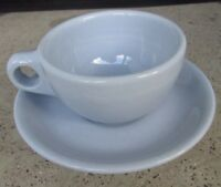 Lune Blue by Buffalo Pottery China Cup & Saucer