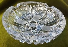 Cendrier cristal de bohême