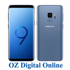 "NEW Samsung Galaxy S9 G960 64GB +128GB Blue 12MP 4G 5.8"" Unlocked Phone 1YrAuWty"